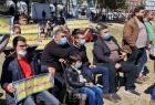 غزة: متقاعدون عسكريون يدعون لحشد صحفي لتغطية إضرابهم للمطالبة بحقوقهم