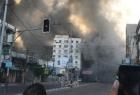 استهداف برج الشروق بـ 3 صواريخ من طائرات جيش الاحتلال - فيديو وصور