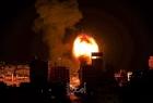 جيش الاحتلال يعلن عن قصف مواقع أمنية في قطاع غزة
