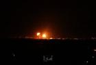 لحظة بلحظة.. طائرات الاحتلال تقصف أهدافًا أمنية في قطاع غزة- فيديو