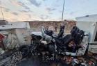 إصابات جراء حادث سير شمال جنين