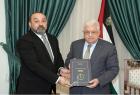 الرئيس محمود عباس يتسلم تقرير النيابة العامة السنوي للعام 2020