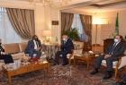 أبو الغيط يبحث مع وزير بريطاني التعاون الثنائي بين الجامعة العربية ولندن