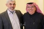 """صحيفة لبنانية تكشف """"كواليس"""" لقاء السنوار مع العمادي"""