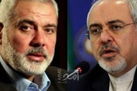 ظريف يؤكد لهنية: إيران لن تتخلى عن واجبها تجاه القدس والأقصى