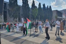 مظاهرة جماهيرية حاشدة في ذكرى النكسة وتضامنًا مع الشعب الفلسطيني في مدينة نورنبرغ