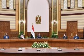 الرئيس السيسي يستقبل وزراء ومسؤولي الإعلام العرب