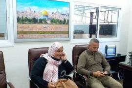 السلطان يهنئ الاسيرة نسرين أبو كميل بانتصارها على السجان