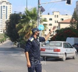 المرور بغزة: إصابة 45 شخصًا نتيجة 70 حادث سير