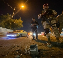 إصابات جراء انفجار استهدف جسر الأئمة شمال بغداد - فيديو