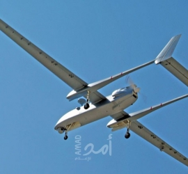 """جيش الاحتلال يعلن اعتراض """"طائرة مسيرة"""" أطلقت من غزة"""