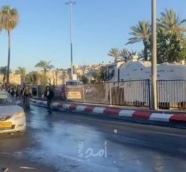 اندلاع مواجهات مع قوات الاحتلال في القدس المحتلة - فيديو