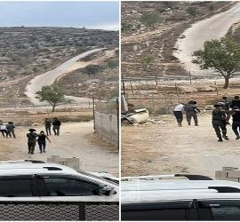 مواجهات مع قوات الاحتلال الإسرائيلي بالضفة الغربية