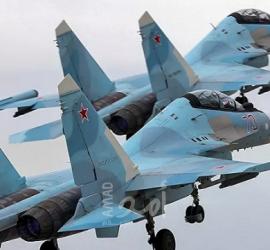 """مقاتلات روسية تمنع طائرات أمريكية من """"انتهاك المجال"""" الجوي فوق البحر الأسود"""