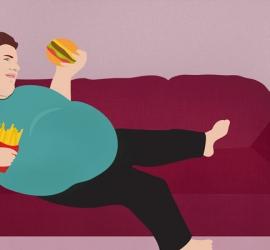 دراسة: السمنة تزيد حدة أعراض كورونا