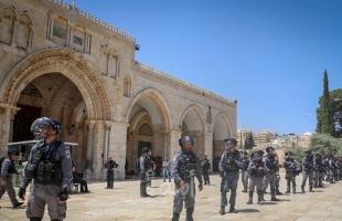 تجمع المؤسسات الحقوقية يُدين الاعتداءات المستمرة لقوات الاحتلال المصلين المعتكفين في المسجد الأقصى