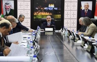 حكومة رام الله: صرف رواتب الموظفين الأسبوع المقبل بنسبة 60 % وتشكيل لجنة لمتابعة الجريمة الإسرائيلية في واد الحمص
