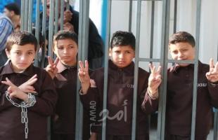 """هيئة الأسرى: ثلثي المعتقلين والمحتجزين داخل مركز توقيف """"عتصيون"""" من القاصرين"""