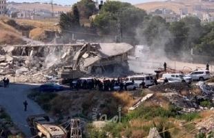 الصليب الأحمر: عشرات العائلات فقدت منازلها بالفعل في واد الحمص