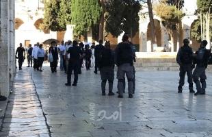 صور.. القدس: شرطة الاحتلال تقتحم مصلى باب الرحمة في الأقصى وتستولي على قواطع خشبية