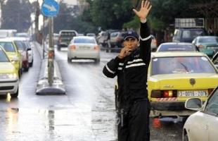 مرور غزة تصدر تنويها حول إغلاق أحد الشوارع