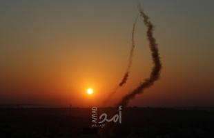 سقوط صاروخ أطلق من قطاع غزة قرب منزل في سديروت - فيديو