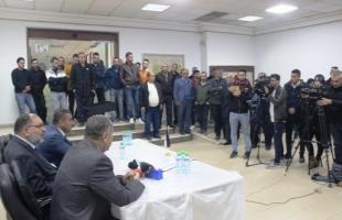 أوقاف رام الله تنظم مؤتمراً صحفياً حول الاستيطان في الخليل