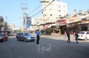 """""""مرور غزة"""" تصدر تنويها بإغلاق بعض شوارع مدينة غزة"""