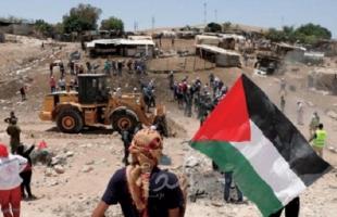 اسرائيل تؤجل إخلاء الخان الأحمر خشية من محكمة الجنايات الدولية  ومحتجون في سديروت