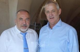 غانتس: اتفقنا مع ليبرمان على تعاون لتشكيل حكومة لإخراج إسرائيل من الوحل