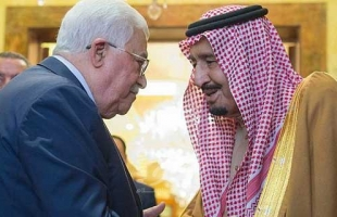 الرئيس عباس يهنئ خادم الحرمين الشريفين بيوم اعلان المملكة