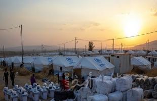 إصابة لاجئين سوريين جراء حريق بمخيم في كردستان العراق