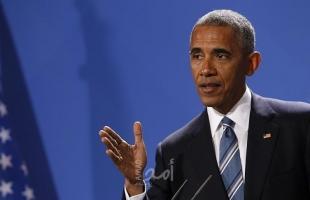 """أوباما يحث الديمقراطيين على التصويت بكثافة لمرشح الرئاسة الأمريكية """"بايدن"""""""