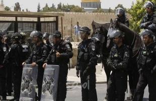 شرطة الاحتلال تصادر إفطار الصائمين في منطقة باب الأسباط - فيديو