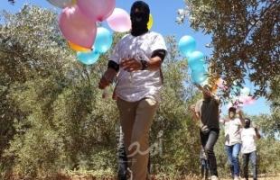 استئناف إطلاق البالونات الحارقة باتجاه البلدات الإسرائيلية المحاذية لقطاع غزة