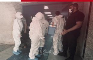 وفاة مواطنة من سكان مدينة نابلس إثر إصابتها بفيروس كورونا