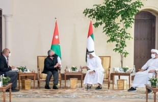 عبد الله وبن زايد يؤكدان: مستمرون في التشاور حول القضايا العربية والإقليمية