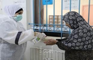"""الصحة الفلسطينية تسجل 19 حالة وفاة و1774 إصابة جديدة بفيروس """"كورونا"""""""