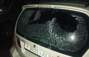 مستوطنون يهاجمون منزلا ويحطمون مركبتين جنوب نابلس