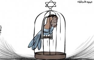 كاريكاتير - الرواية الاسرائيلية