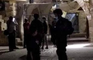 قوات الاحتلال تقتحم أحياء في البلدة القديمة بالقدس