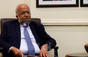 """الكيلة: الرئاسة تتابع عن كثب تطورات الوضع الصحي لـ """"عريقات"""""""