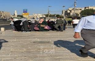 شرطة الاحتلال تعتقل مقدسيات من باب العامود بالقدس