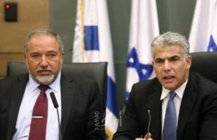 قناة عبرية: ليبرمان ولابيد يوقعان اتفاقا لتقاسم فائض الأصوات في الانتخابات القادمة