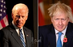 بريطانيا: جونسون وبايدن اتفقا على ضرورة عودة إيران للالتزام بالاتفاق النووي