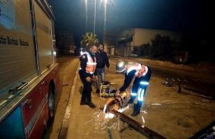 """""""الدفاع المدني"""" يُنفذ 122 مهمة منذ بداية المنخفض الجوي بقطاع غزة"""