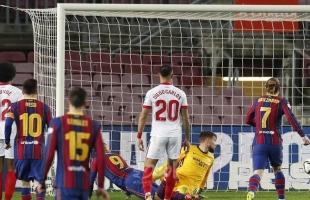 """شاهد .. برشلونة ينتزع بطاقة التأهل إلى نهائي """"كأس ملك إسبانيا"""""""