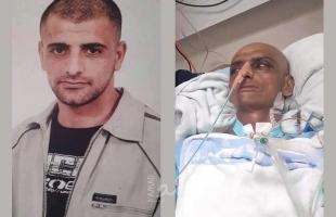 """الأسير السابق حسين مسالمة بوضع صحي حرج جدا في مستشفى """"هداسا"""""""
