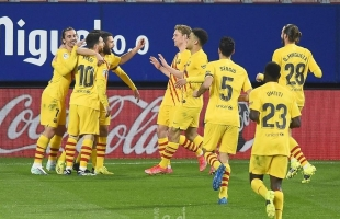 برشلونة يفوز على أوساسونا