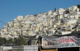 فصائل فلسطينية.. ما يجري في حي البستان بسلوان عدوان إسرائيلي خطير